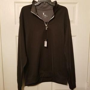 F&G Tech long sleeve 1/4 zip size XL